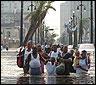 Afectados por el huracan Katrina