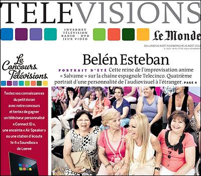 El reportaje sobre Belen Esteban en Le Monde