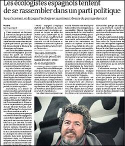 Lopez de Uralde en Le Monde