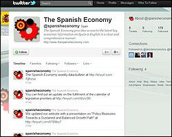 Twitter del Ministerio de Economia