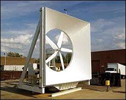 La turbina vertical Ethan 100kw