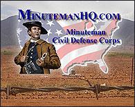 El logo de los Minuteman