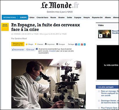 El artículo de Le Monde