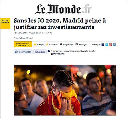 1a77ecb0869 La prensa extranjera apunta que a Madrid puede costarle recuperarse ...
