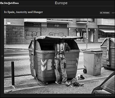 Una foto de Samuel Aranda en la web del NYT