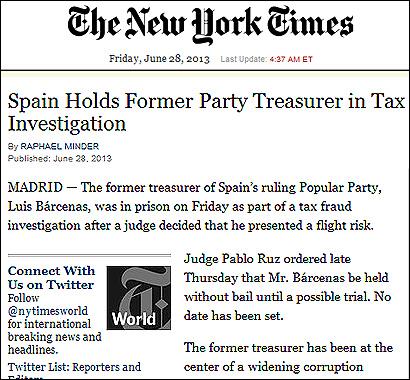 El articulo del NYT