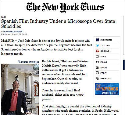 El artículo del New York Times