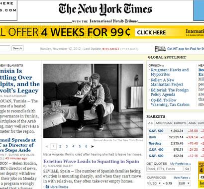 El New York Times habla de