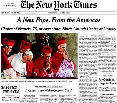 Portad del NYT
