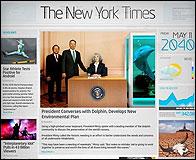 La portada del NY Times en 2040