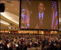 Obama en el Desayuno de 2009