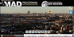 Mega panoramica de Madrid