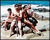 Pedro Arias en un acto nudista