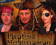 El cartel de Piratas del Mediterraneo
