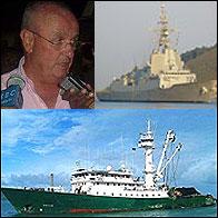 Nicolas Martin Cinto, la fragata Mendes Nuñez y el Playa de Bakio
