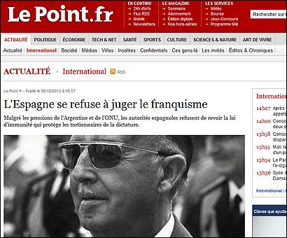 El artículo de Le Point