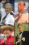 Politicos cantando