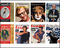 Algunas portadas de Esquire