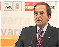 Fernando Puras al dimitir del PSN