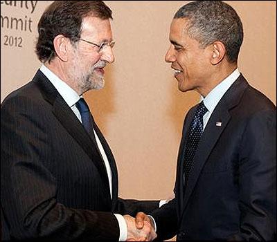 Rajoy y Obama
