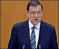 Rajoy en su comparecencia
