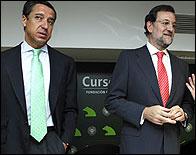 Eduardo Zaplana y Mariano Rajoy