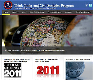 Web del Ranking de Think Tanks