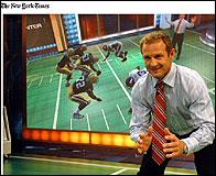 Realidad virtual en el plató de ESPN