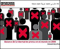 El informe sobre libertad de prensa de RSF