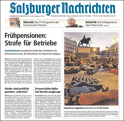 El Salzburger Nachrichten