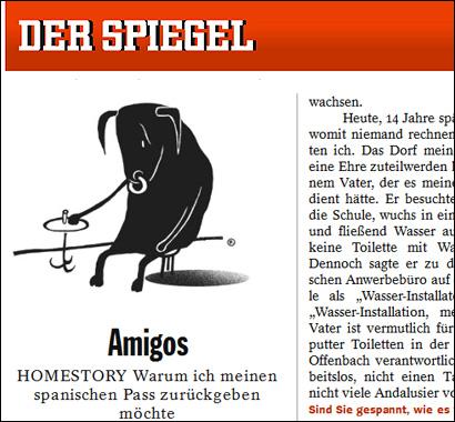 El artículo de Juan Moreno en Der Spiegel