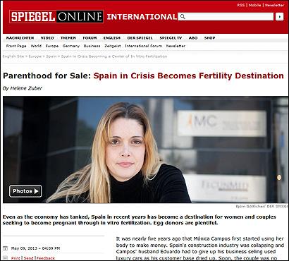 El artículo en Der Spiegel
