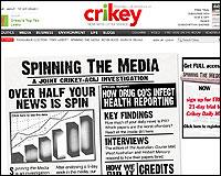 El informe Spinning the media