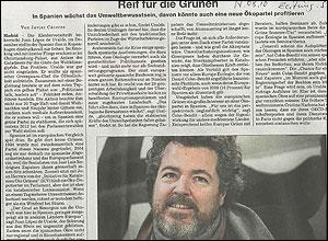 Lopez de Uralde en el Suddeutsche
