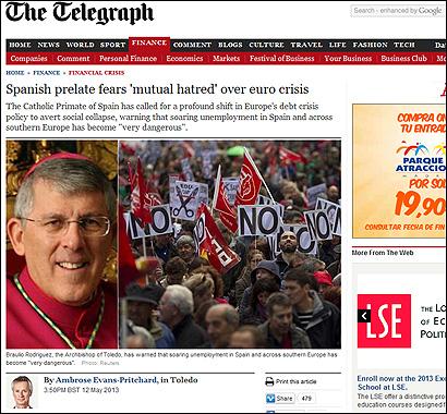 El artículo de The Telegraph