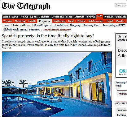 El artículo del Telegraph
