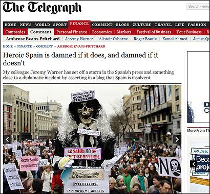 El articulo de Ambrose Evans-Pritchard en el Telegraph