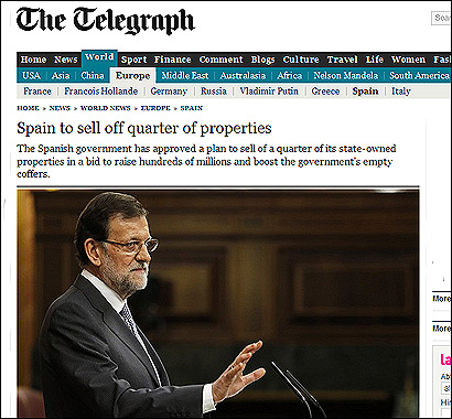 El articulo del Telegraph