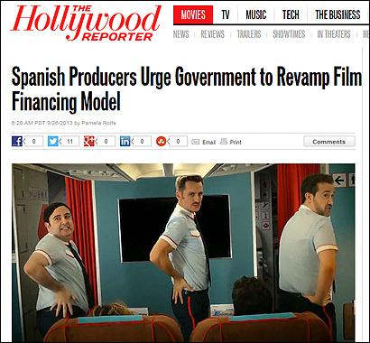 El artículo de The Hollywood Reporter