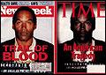 La portada de Time en la que OJ Simpson aparecía ennegrecido