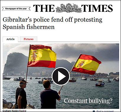 El artículo de The Times