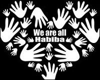 Logo de la campaña de apoyo a Habiba