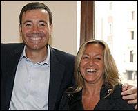 Tomas Gómez y Trinidad Jiménez