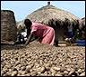 Un campo de refugiados en Uganda