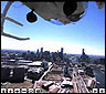 El video esférico de Melbourne desde el helicpotero