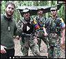 David Beriain con guerrilleros de las FARC