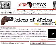La web Voices of Africa