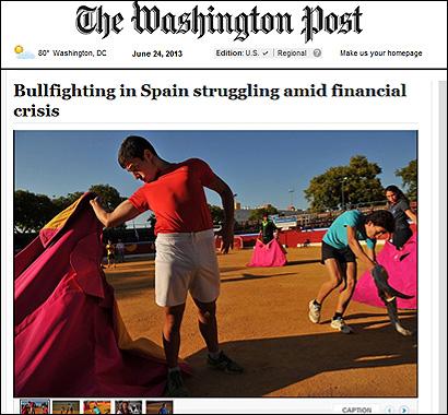 El artículo del Washington Post