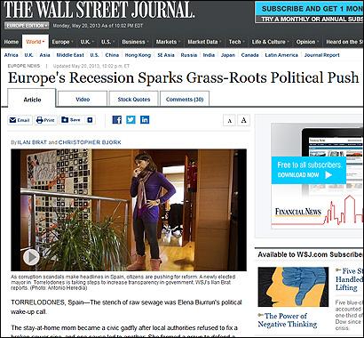 El artículo del Wall Street Journal