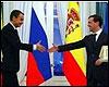 Encuentro Zapatero-Medvedev